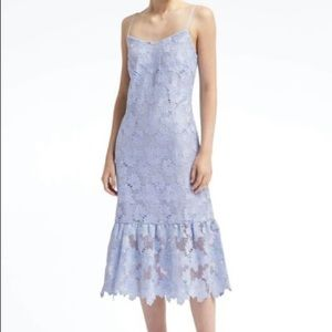 Banana Republic Blue lace dress